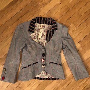 Kenzo Patterned Blazer